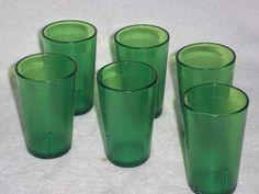 Vintage Texan Ware Drinking Glasses Kitchenware Dinnerware  