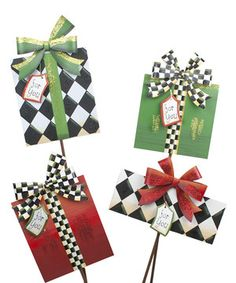 Look at this #zulilyfind! Elegant Package Stake Set by The Round Top Collection #zulilyfinds