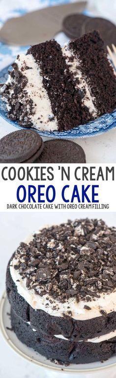 Extreme Cookies 'n Cream Oreo Cake