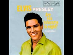 "Elvis Presley - ""Are You Lonesome Tonight?"" (1960)"