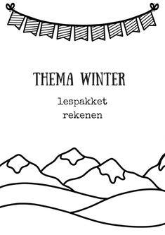Ik maakte een thema winter lespakket rekenen voor kleuters en groep 3. Met kleding ontwerpen (patronen), getalbegrip, splitsen en een dobbelsteen spel (sprongen van 2).
