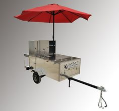 The Big Hot Dog Cart is durable and spacious. Each purchase comes with a hot dog cart water heater at no additional cost. Big Hot Dog, Hot Dogs, Hot Dog Cart, Popcorn Maker, Sliding Doors, Cast Iron, Restaurant, Plates, Things To Sell