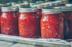 Salsa Tomate, Conure, Ketchup, Vinaigrette, Entrees, Good Food, Appetizers, Homemade, Canning