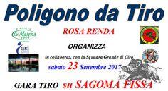 Gara Tiro su sagoma fissa con fucile e carabina - sabato 23 settembre 2017 alle ore 9.00 al Poligono da Tiro Rosa Renda Cirò Marina   - http://www.eventiincalabria.it/eventi/gara-tiro-su-sagoma-fissa-con-fucile-e-carabina/