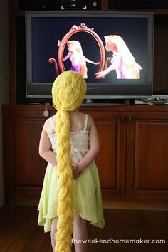 Make Your Own Rapunzel Wig