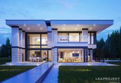 Projekt domu LK&1235. Modern house plan, villa. House project.  #projekt #domu #dom #projektdomu #projektydomow #projektydomów #budowa #buduje #buduję #budujedom #budujędom #house #houseplan #plan #architecture #modernhouse #modern #project #houseproject #nowoczesnydom #domnowoczesny #nowoczesny