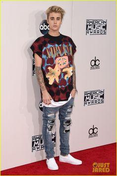 justin bieber american music awards 2015 01
