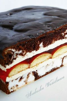 "Arabeska: Oczy carycy ""Eyes of the Tsarina"" Cake Recipes, Dessert Recipes, Torte Cake, Cheap Easy Meals, Sweet Bar, Number Cakes, Polish Recipes, Polish Food, Best Food Ever"