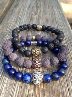 Tips On How To Express Yourself With Jewelry Gemstone Bracelets, Bracelets For Men, Fashion Jewelry, Women Jewelry, Mode Blog, Diffuser Jewelry, Men's Accessories, Jewelry Collection, Beaded Jewelry