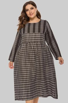Curve Girl Plus Size Clothing - Women's Plus Size Desi Clothing      Trendy Checks N Plaid Casual Dress      $30.99      Retail Price:$60.99 Plus Size Dresses, Plus Size Outfits, Trendy Outfits, Short Dresses, Formal Skirt And Top, Skirt And Top Set, Bodycon Dress Parties, Party Dress, Curve Girl