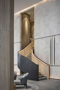 Stunning luxury interior design ideas from modern boutique hotels. Lobby, bedroom, stairways and entryways, a room by room guide to finding inspiration with the best interior architecture from world renowned hotels. # Source by decoration designers luxury Interior Design Minimalist, Office Interior Design, Luxury Interior Design, Best Interior, Modern House Design, Interior Architecture, Office Designs, Modern Stairs Design, Country Interior