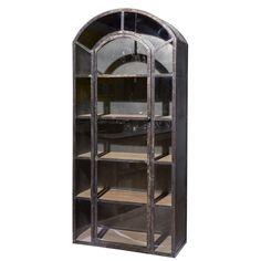 POMAX Detroit Cabinet Zink KAST zwart metaal vintage. Landelijke industriële kast  Detroit van POMA - Berlano.nl Interieur & Tuinmeubilair