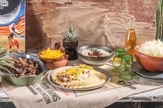Plat Simple, Tzatziki, Mets, Tortillas, Dairy, Cheese, Om, Wraps, Pomegranate Seeds