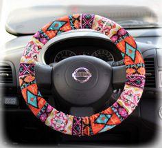 Steering-wheel-cover-wheel-car-accessories-Aztec-Tribal-Steering-Wheel-Cover