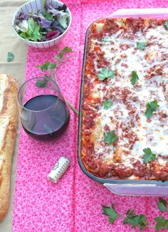 ValSoCal: Incredible Lasagna