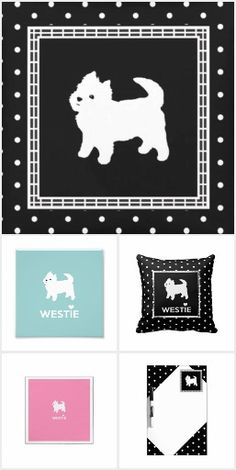 Who can resist a Westie? Cute drawing of a perky little West Highland White Terrier. West Highland White, West Highland Terrier, White Terrier, Westies, Terriers, Cute Drawings, Doodle, Kids Rugs, Beautiful Drawings
