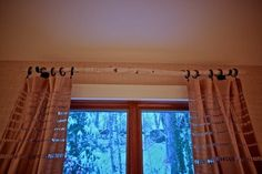 Branch Curtain Rod