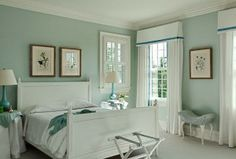 Benjamin Moore Palladian Blue Design Ideas, Pictures, Remodel, And Decor    Wall Color