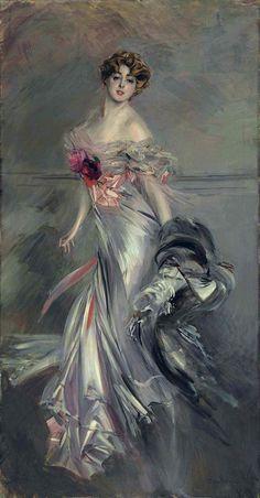 Portrait of Marthe Regnier, 1905. Giovanni Boldini