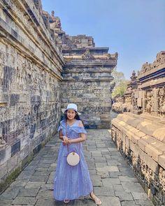 """YURI K   Lifestyle Blogger on Instagram: """"Borobudur temple. One of UNESCO World Heritage Sites"""". 🙃 ⠀⠀      …"""""""