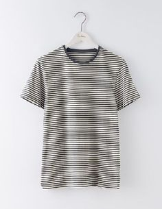 Boden Washed Striped T-shirt London Grey/Ecru Men Liven up your T-shirt collection with this soft-washed staple. Our stripy tee is an easy way to inject a bit of colour and fun into your day. Team with a sweatshirt, V-neck jumper or laid-back shirt f http://www.MightGet.com/january-2017-13/boden-washed-striped-t-shirt-london-grey-ecru-men.asp