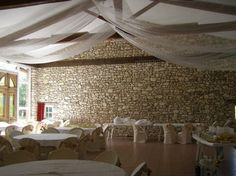 voilage plafond decoration decoration repas plafond mariage mariage nathalie mariage floral au lac mariage au ides diverses mariage vintage - Voile Hivernage Mariage