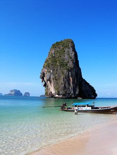 Accessible by boat only peninsula. One of the top Phi Phi Ferry destinations.