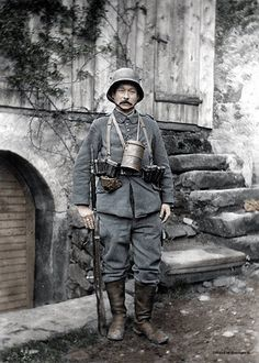 Imperial German sentry, World War World War One, Second World, First World, Triple Entente, Ww1 History, Military History, Ww1 Soldiers, German Uniforms, Austro Hungarian