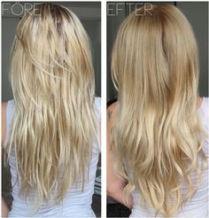 blond ombre hair - this may be the ONLY ombre that I've seen that I actually like.