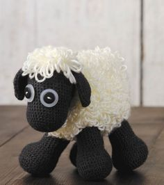Sheep Toy a free crochet pattern fun animals and toys to crochet