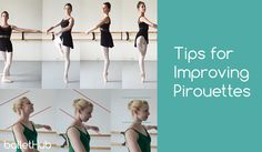 Here are some great tips for improving pirouettes. Take a look at each one and try to apply these corrections the next time you're doing a pirouette combination in ballet class. These tips assume you already have a general understanding … Continued Ballet Class, Dance Class, Ballet Dance, Dance Tips, Dance Lessons, Dance Articles, Ballet Stretches, Ballet Moves, Ballet Body