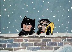 Peanuts Batman & Robin