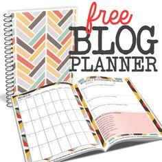 Free Blog Planner Square