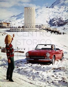 1966 Fiat 124 Sport Spider   Credit: Centro Storico Fiat
