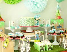 "Minecraft / Birthday ""Theodores 10th Minecraft Party""   Catch My Party"