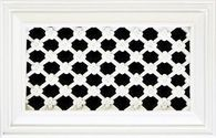 Daisy vent grille heater cover register