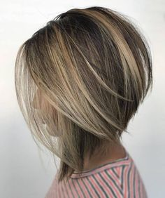 Messy Bob Hairstyles, Short Hairstyles For Thick Hair, Short Brown Hair, Teenage Hairstyles, Medium Hair Cuts, Short Hair Cuts, Medium Hair Styles, Short Hair Styles, Women Hair Cuts