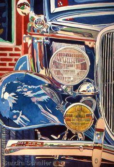 Watercolors by Sandra Schaffer, WHS, TWSA: Jazzed Classic
