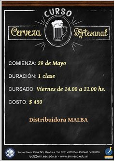 Curso Cerveza Artesanal
