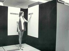 Honeywell 6180 mainframe system, circa 1970s