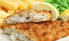 Homemade Fish and Chips with Tartar Sauce Fish Recipes, Seafood Recipes, Dinner Recipes, Healthy Recipes, File De Panga, Breaded Cod, Best Fish And Chips, Pub Food, Baked Fish