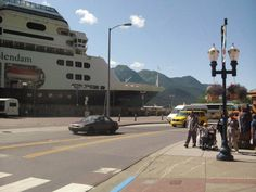Juneau, Alaska.  Of our three ports of call, this is my favourite.