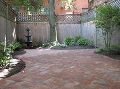 Image result for herringbone brick patio