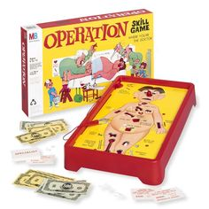 Operation, games, board games, 1990s, 90s