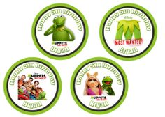 Muppets Most Wanted Cupcake Toppers $3.99