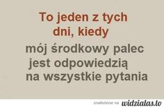 Czasami tak.  :-P :-P Polish Language, Food For Thought, Inspire Me, I Laughed, Quotations, Funny Quotes, Sad, Inspirational Quotes, Thoughts