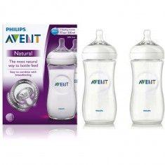 New Fashion 11oz Clear Natural Baby Bottle Unique Air Flex Vent Nipple Reduce Feeding Issue Feeding Bottle Feeding