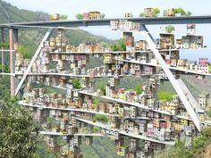Parasitic City Takes Root on Italian Bridges | Inhabitat - Sustainable Design Innovation, Eco Architecture, Green Building