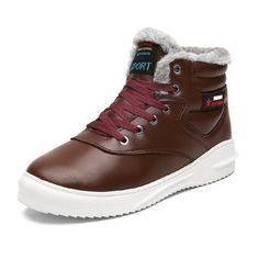 High-quality Men Microfiber Leather Waterproof Warm Plush Lining Ankle Boots - NewChic Mobile