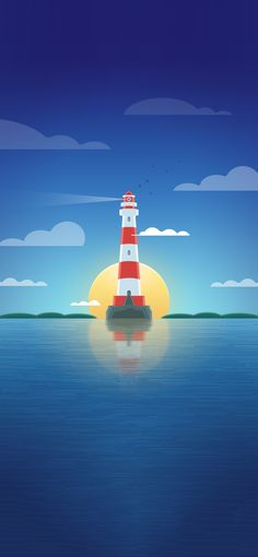 Download - Vector Lighthouse (Day)